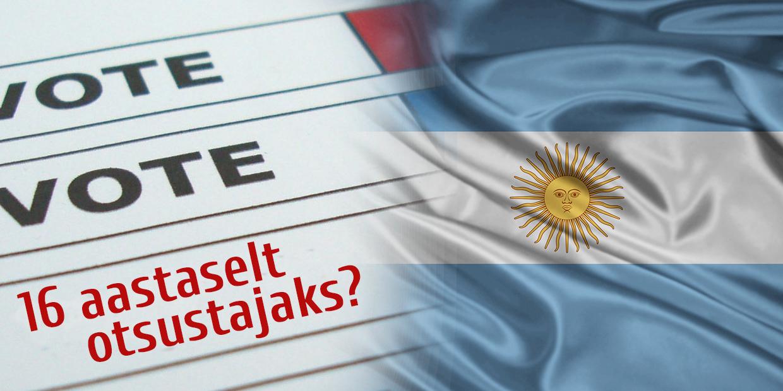Argentiina langetab valimisiga juba oktoobris?