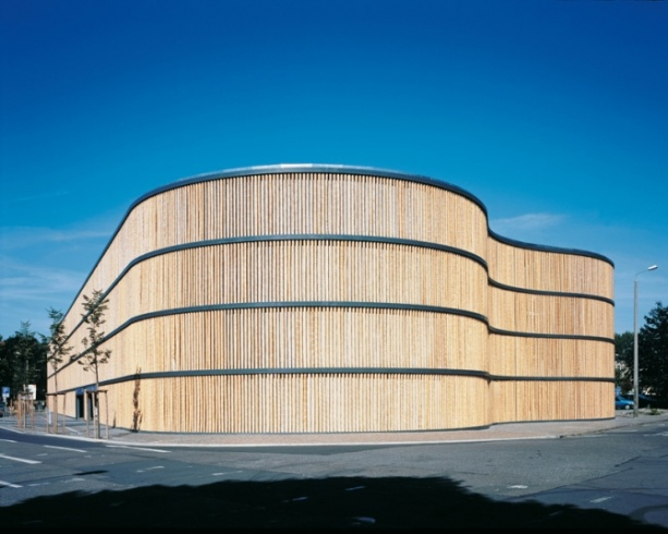HPP Architects: Parking Garage of the Leipzig Zoo