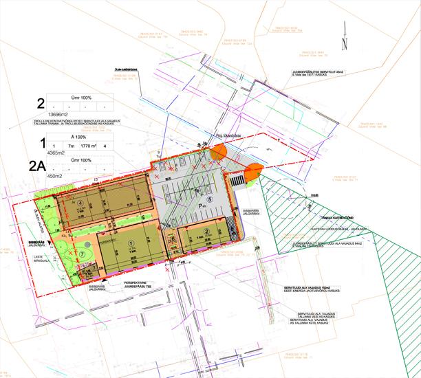 Mustamäe turu detailplaneeringu eskiis teisipäeval halduskogus