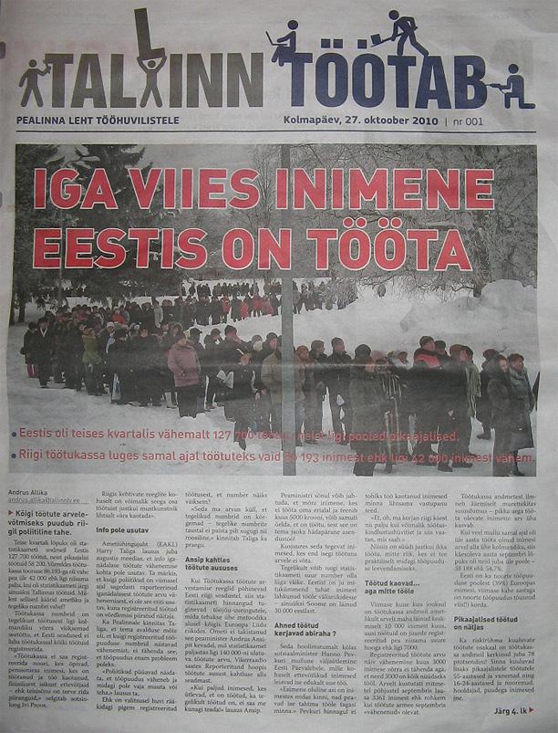 Tallinna värskest propagandaväljaandest