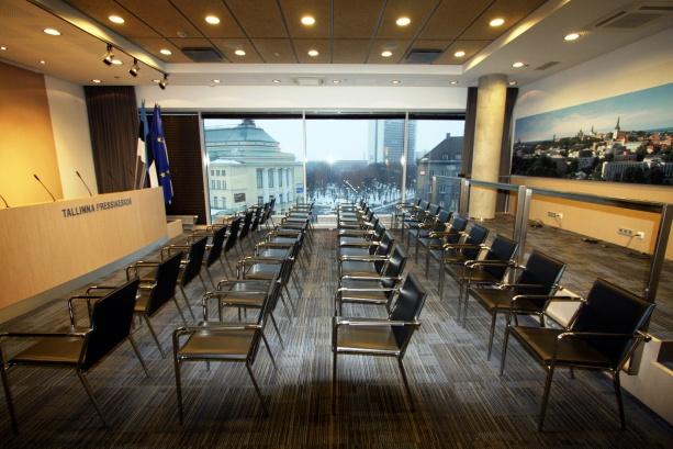 Tallinna pressikeskus, vähemalt vaade on hea…