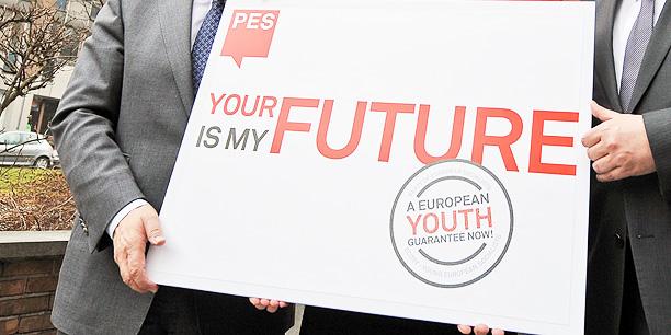 Eurosotsid nõuavad Euroopa Noortegarantiid