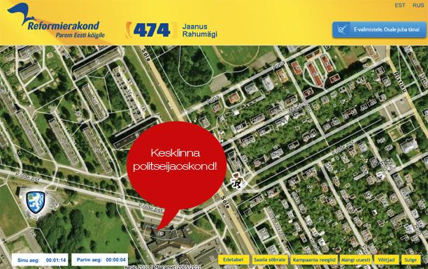 Näidake keegi Jaanus Rahumäele, kus Tallinnas Kesklinna politseijaoskond asub…
