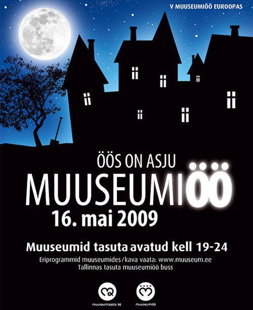Muuseumiöö - öös on asju