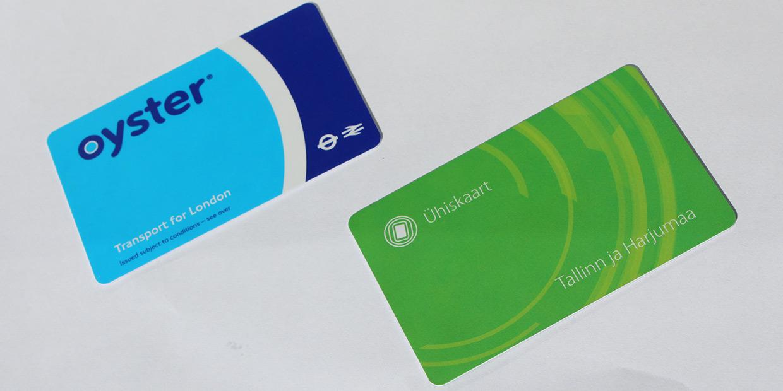 Tallinna ühiskaart vs London Oyster Card